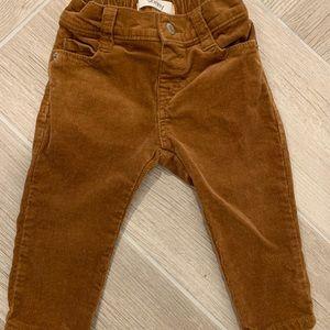 Gymboree skinny corduroy pants